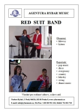Red suit band